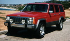 1989 Jeep Cherokee Front