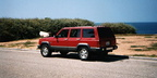 1989 Jeep Cherokee Rear