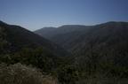 Looking at Santiago Canyon Road
